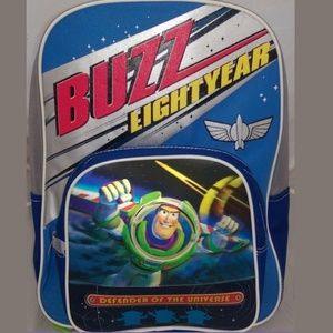 """Buzz Light Year 16"""" Cloth Backpack Book Bag"""